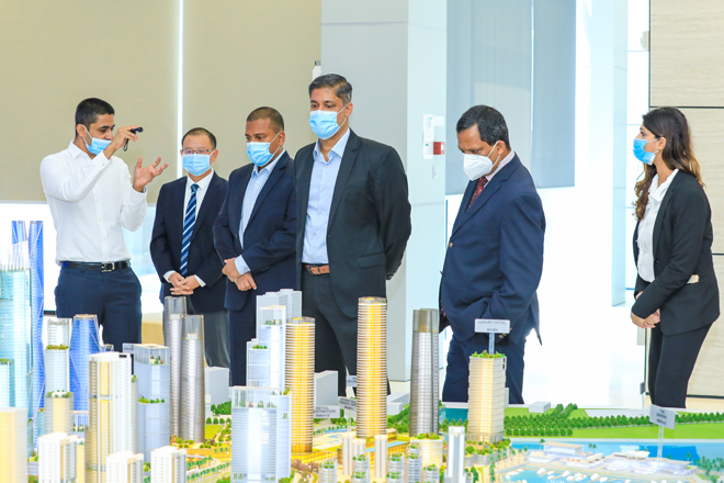 Colombo Stock Exchange Signs MoU with CHEC Port City Colombo