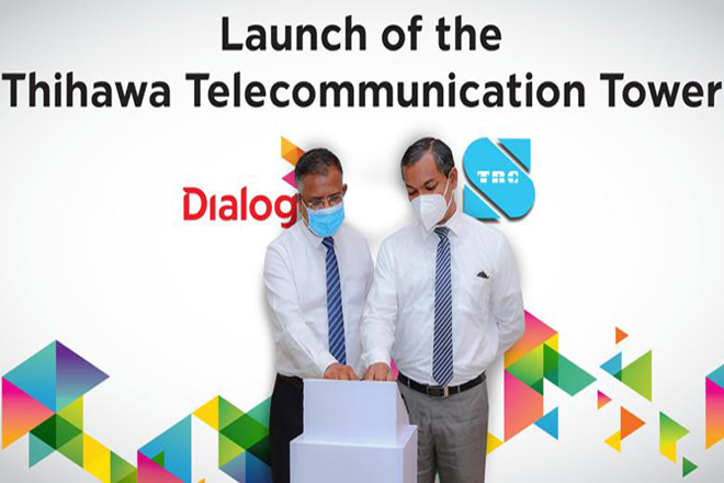 Dialog Axiata Launches Milestone 4,000th Network Tower in Thihawa