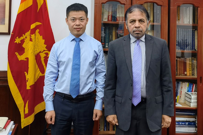 HIPG Delegation visits SL Ambassador to China; discussions on joint investment promotion
