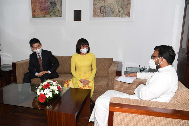 Vietnam SL Bilateral Relations to get a boost in Organic Farming, IT Sector Investments & Tourism