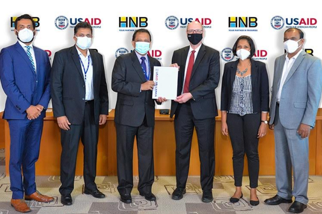 USAID's Private Sector Development project signs MOU with HNB to expand financing to MSMEs